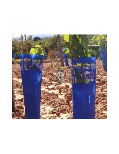 Protector de tronco para árboles azul 50 cm unidad - 1